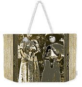 Two  Soldaderas Unknown Mexico Location Or Date-2014 Weekender Tote Bag