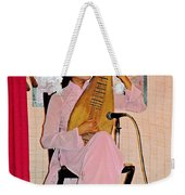 Two-stringed Lute Player At Wedding Ceremony Show In Binh Quoi Village-vietnam  Weekender Tote Bag
