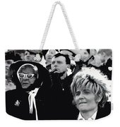 Two Women Spectators La Fiesta De Los Vaqueros Rodeo Collage Tucson Arizona 1969-2013 Weekender Tote Bag
