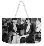 Two Women Talking Weekender Tote Bag