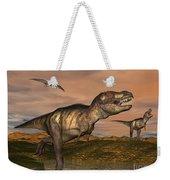 Tyrannosaurus Rex Dinosaurs Weekender Tote Bag
