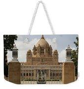 Umaid Bhawan Palace, India Weekender Tote Bag