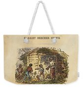 Uncle Tom's Cabin, 1852 Weekender Tote Bag