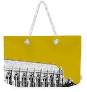 University Of Washington - Suzzallo Library - Gold Weekender Tote Bag