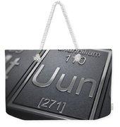 Ununnilium Chemical Element Weekender Tote Bag
