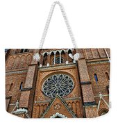Uppsala Cathedral - Sweden Weekender Tote Bag