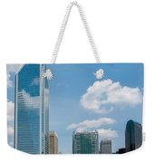 Uptown Charlotte North Carolina Cityscape Weekender Tote Bag