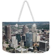 Uptown District Weekender Tote Bag