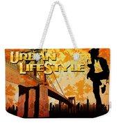 Urban Lifestyle Weekender Tote Bag