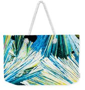 Urea Or Carbamide Crystals In Polarized Light Weekender Tote Bag