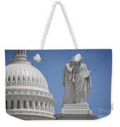 Us Capitol Peace Monument Weekender Tote Bag