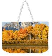 Usa, Grand Teton National Park Wyoming Weekender Tote Bag