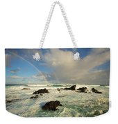 Usa, Hawaii, Rainbow Offshore Weekender Tote Bag