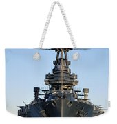 Uss Texas Bow Weekender Tote Bag