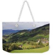Val Di Funes Dolomites Italy Weekender Tote Bag