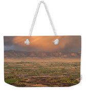 Valley Sunset Weekender Tote Bag