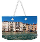 Venice Grand Canal View Italy Weekender Tote Bag
