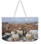 Terracotta Skyline Venice Italy Weekender Tote Bag