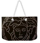 Versace Medusa Head Weekender Tote Bag by Peter Virgancz