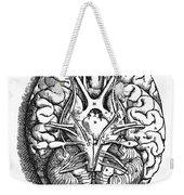 Vesalius: Brain Weekender Tote Bag