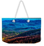 View From Table Rock Mountain Weekender Tote Bag