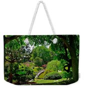 View Of A Japanese Garden Weekender Tote Bag
