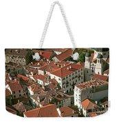 View Of Kotor Town In Montenegro Weekender Tote Bag