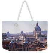 View Of Rome 2013 Weekender Tote Bag