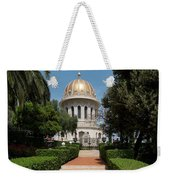 View Of Terraces Of The Shrine Weekender Tote Bag