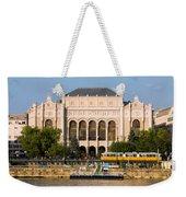 Vigado Concert Hall In Budapest Weekender Tote Bag