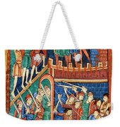 Vikings Invade England 9th Century Weekender Tote Bag by Photo Researchers