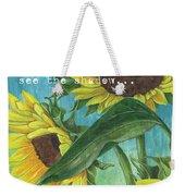 Vince's Sunflowers 1 Weekender Tote Bag by Debbie DeWitt