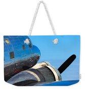 Vintage Airplane Weekender Tote Bag