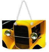 Vintage Car Yellow Detail Weekender Tote Bag