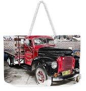 Vintage International Truck Weekender Tote Bag by Douglas Barnard