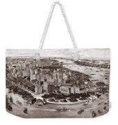 Vintage New York 1903 Weekender Tote Bag
