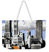 Vintage New York Travel Poster Weekender Tote Bag