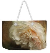 Vintage Tea Rose Weekender Tote Bag