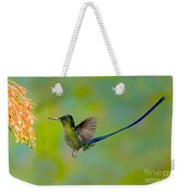 Violet-tailed Sylph Weekender Tote Bag