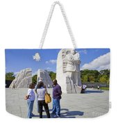 Visitors At The Martin Luther King Jr Memorial Weekender Tote Bag