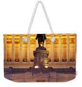 Vittorio Emanuele - Rome Weekender Tote Bag