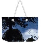 Volcano In Patagonia, Argentina Weekender Tote Bag