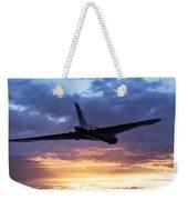 Vulcan Sunset Weekender Tote Bag