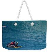 Waimea Bay Takeoff Weekender Tote Bag
