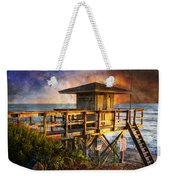 Waiting For Customers Weekender Tote Bag