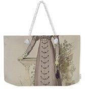 Walking Dress, Fashion Plate Weekender Tote Bag