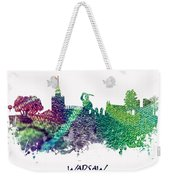 Warsaw City Skyline Weekender Tote Bag
