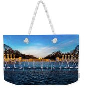 Washington D.c. - Fountains And World Weekender Tote Bag