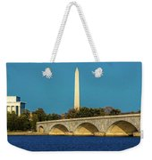 Washington D.c. - Memorial Bridge Spans Weekender Tote Bag