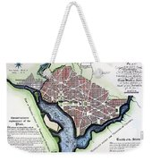 Washington, Dc, Plan, 1792 Weekender Tote Bag